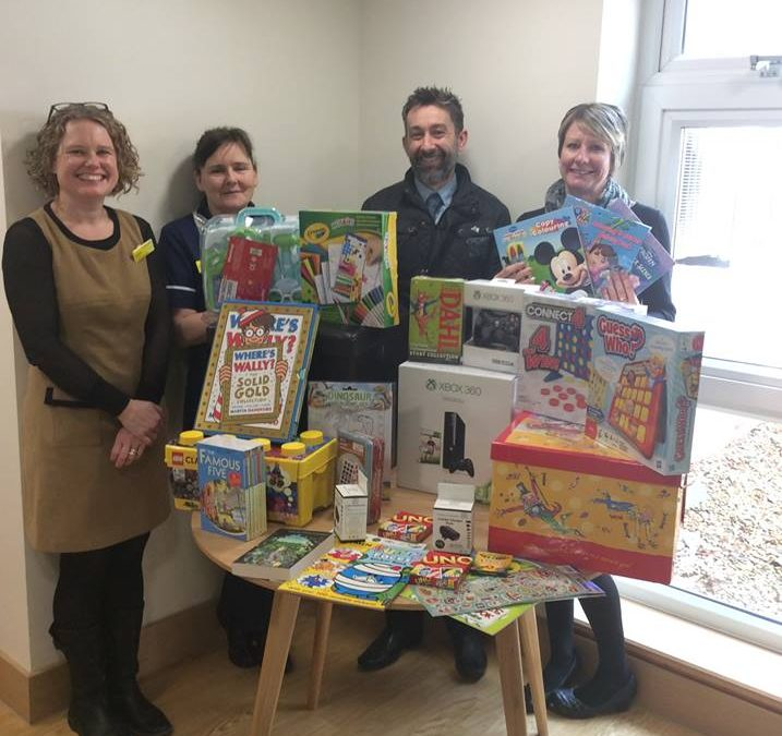 Children have their say on hospice toys