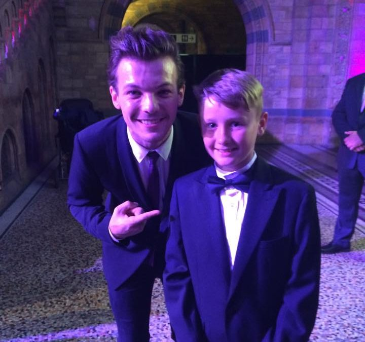 Sophie Rolf's family meet One Direction star and more at charity ball