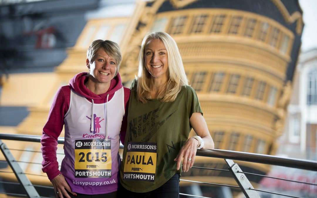 Marathon star Paula Radcliffe 'honoured' to meet inspirational Isle of Wight mum