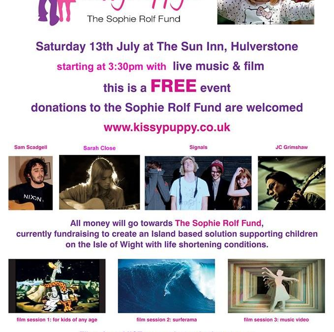 Music and Film Event for Sophie Rolf