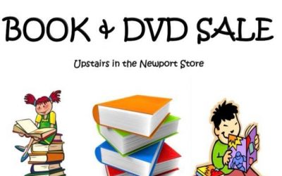 Book & DVD Sale in Sophie's Shop