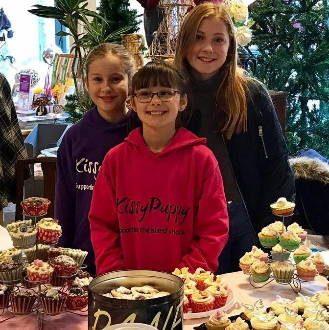 Sophie's Friends hold Cake Sale in Sophie's Shop