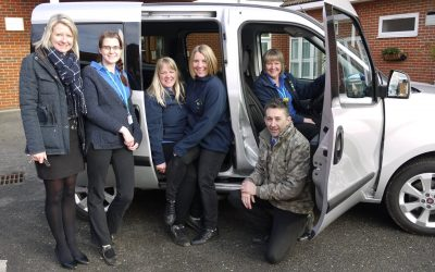Respite Nurses get New Car