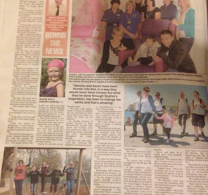Fantastic article in County Press this week