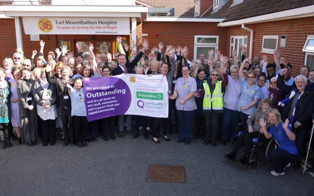 CQC rate Hospice Outstanding
