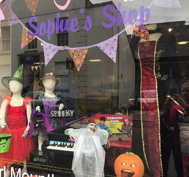 Halloween has arrived in Sophie's Shop