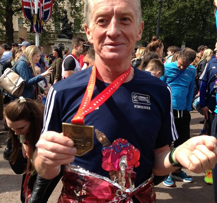 Uncle Peter Finishes London Marathon